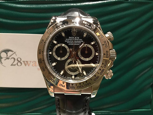 二手 Rolex Daytona 116519 淨錶(Watch only)