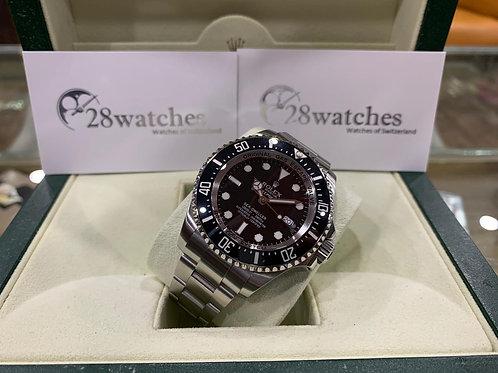Pre-Owned Rolex Sea-Dweller Deepsea 116660 二手,內影,停產,齊格,藍光 - 尖沙咀店