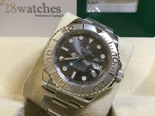Pre-Owned Rolex Yacht-Master 116622 二手 - 銅鑼灣