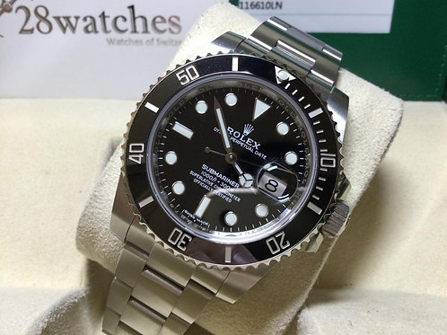 Pre-Owned Rolex Submariner Date 116610LN 二手行貨,AD發票,停產 - 銅鑼灣店