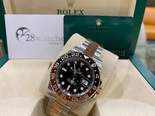 Pre-Owned Rolex GMT-Master II 126711 二手,五年保養,亂碼,內影,齊格,藍光,新保卡 - 尖沙咀店