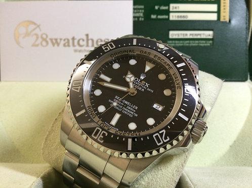 Pre-Owned Rolex Sea-Dweller Deepsea 116660 Black 二手  - 銅鑼灣店
