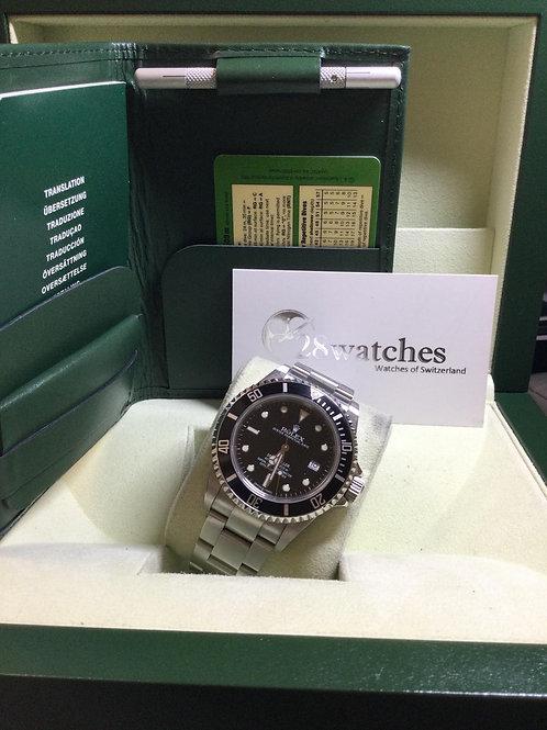 Pre-Owned Rolex Sea-Dweller 4000 16600 二手,行貨,停產 - 銅鑼灣店
