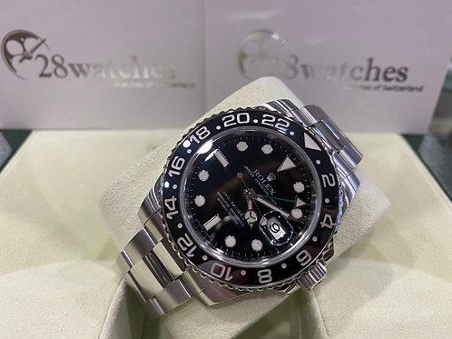 Pre-Owned Rolex GMT-Master II 116710LN 二手,五年保養,亂碼,內影,停產,齊格,藍光 - 尖沙咀店