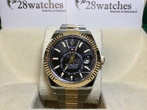 Brand new Rolex Sky-Dweller 326933 BLK 二手 404606 NXW055  - 銅鑼灣店