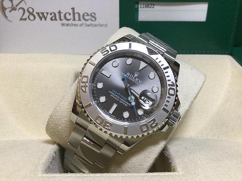 Pre-Owned Rolex Yacht-Master 116622 二手行貨,AD發票,停產  - 銅鑼灣店