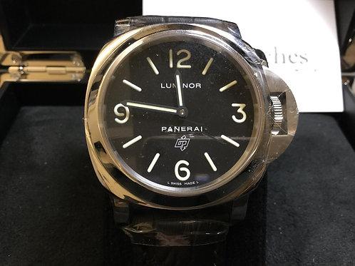 Pre-Owned Panerai Luminor Base Logo PAM00000 二手行貨,AD發票- 銅鑼灣店