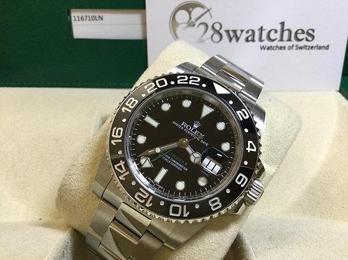 Pre-Owned Rolex 116710LN 行貨 停產 尾期 -銅鑼灣店