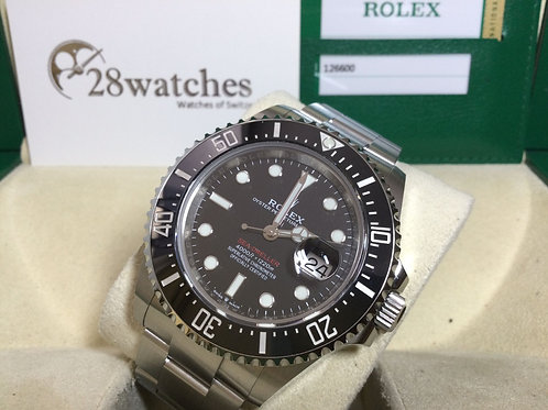 Pre-Owned Rolex Sea-Dweller 126600 二手 行貨 - 銅鑼灣店