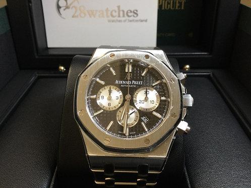 Pre-Owned Audemars Piguet Royal Oak Chronograph 26331ST Black 二手 - 銅鑼灣店