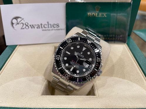 Pre-Owned Rolex Sea-Dweller 126600 MK2 二手,五年保養,亂碼,內影,齊格,藍光,新保卡,齊吊牌 - 尖沙咀店