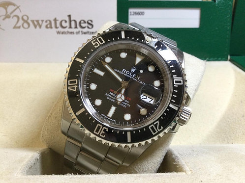 Pre-Owned Rolex Sea-Dweller 126600 MK1 二手行貨,停產,齊格  - 銅鑼灣店