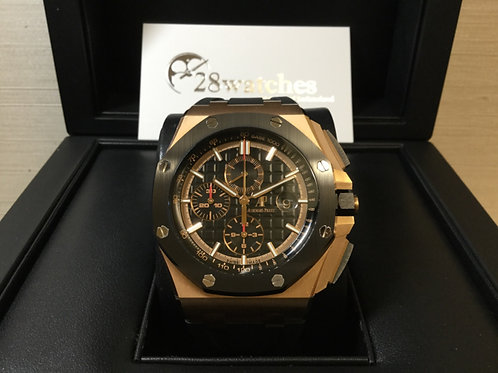 【銅鑼灣店】未用品 Royal Oak Offshore Chronograph 26401RO「行貨」