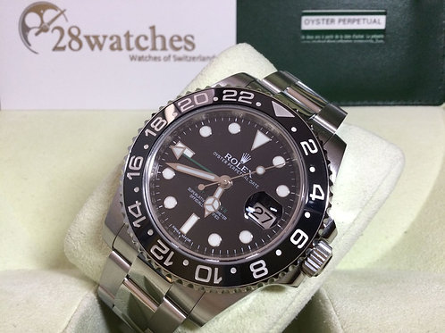 Pre-Owned Rolex GMT-Master II 116710LN 二手行貨,AD發票,內影,齊格,G頭  - 銅鑼灣店