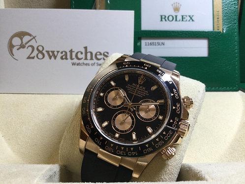 Pre-Owned Rolex Daytona 116515LN 二手,五年保養 - 銅鑼灣店
