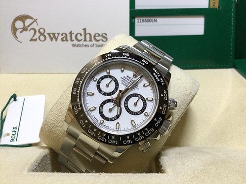 Pre-Owned Rolex Daytona 116500LN WHT 二手行貨 - 銅鑼灣店
