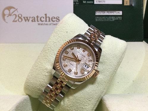 Pre-Owned Rolex Datejust 179171 二手行貨,停產  - 銅鑼灣店