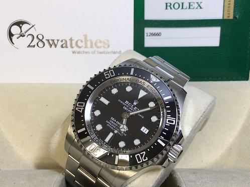 Pre-Owned Rolex Sea-Dweller Deepsea 126660 二手行貨 - 銅鑼灣店