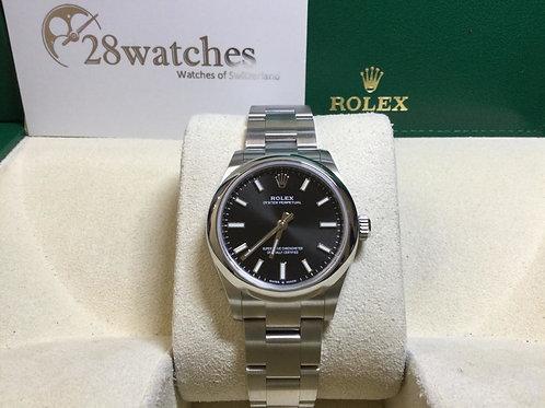 Brand new Rolex Oyster Perpetual 277200 BLACK 全新 - 銅鑼灣店