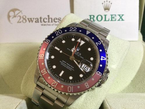 Pre-Owned Rolex GMT-Master 16700 二手行貨,停產,齊格,T25面,T頭,已上行 - 銅鑼灣店