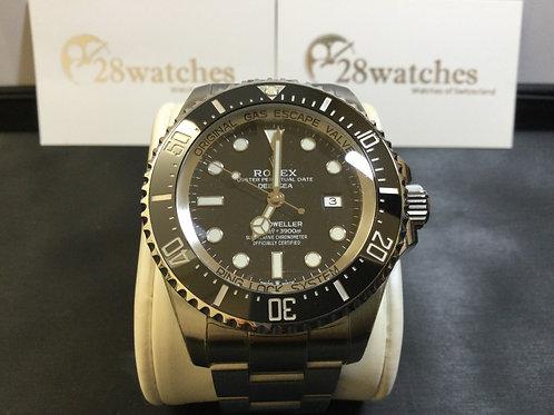 Pre-Owned Rolex Sea-Dweller Deepsea 126660 Black 二手,淨錶  - 銅鑼灣店
