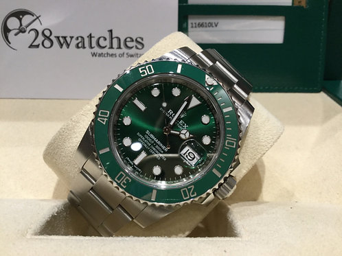 【銅鑼灣店】二手 Rolex Submariner Date 116610LV「行貨」