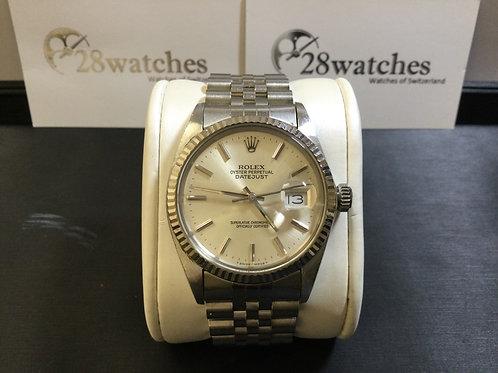 Pre-Owned Rolex Datejust 16014 二手,淨錶,T25  - 銅鑼灣店
