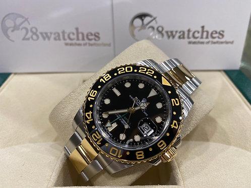 Pre-Owned Rolex GMT-Master II 116713LN 二手行貨,亂碼,內影,停產,齊格,藍光,齊吊牌 - 尖沙咀店