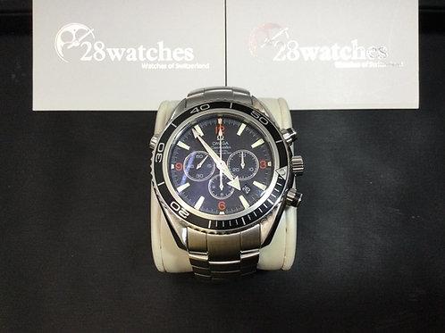 Pre-Owned Omega Seamaster Planet Ocean Chronograph 2210.51.00 二手,淨錶 - 銅鑼灣店