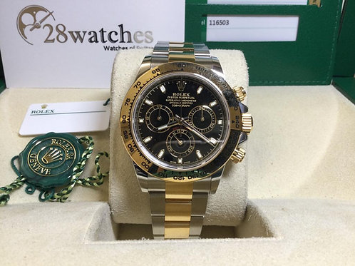 NOS Rolex Daytona 116503BLK 行貨 未改帶 五年保養 - 銅鑼灣店