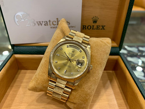 Pre-Owned Rolex Day-Date 36 18248 二手,停產 - 尖沙咀店