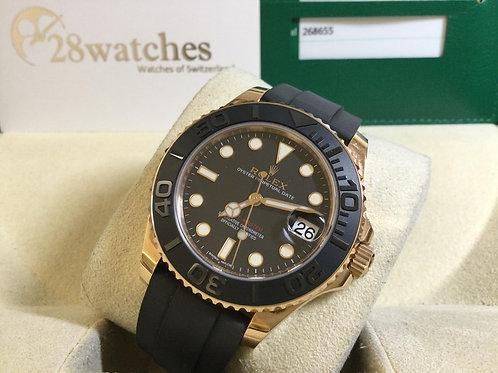 Pre-Owned Rolex Yacht-Master 268655 二手,行貨,AD發票  - 銅鑼灣店
