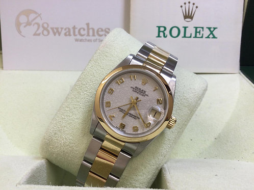 Pre-Owned Rolex Datejust 68243 二手行貨  - 銅鑼灣店
