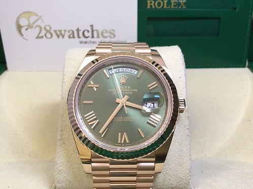 Brand new Rolex Day-Date 228235-0025 全新 - 銅鑼灣店