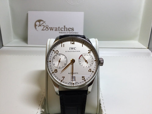 Pre-Owned IWC Portuguese Automatic IW500114 二手 - 銅鑼灣店