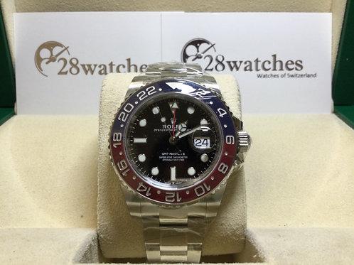 Brand new Rolex GMT-Master II 126710BLRO-0002 全新 NXW181- 銅鑼灣店