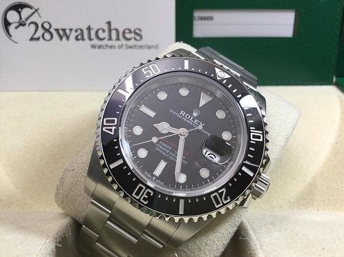 NOS Rolex Sea-Dweller 126600 MK2 未用品,齊膠紙 - 銅鑼灣店