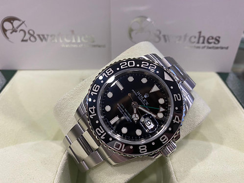 Pre-Owned Rolex GMT-Master II 116710LN 二手行貨,AD發票,亂碼,內影,停產,齊吊牌 - 尖沙咀店