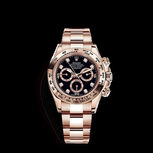 Rolex Daytona 116505-0015 Black set with diamonds