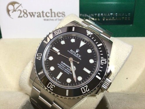 Pre-Owned Rolex Submariner 124060 二手 - 銅鑼灣店