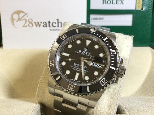 Pre-Owned Rolex Submariner Date 116610LN 二手行貨,五年保養  - 銅鑼灣店