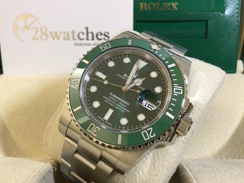 NOS Rolex Submariner Date 116610LV 未用品,新卡,AD發票,尾期,2020年,未改帶,量少   - 銅鑼灣店