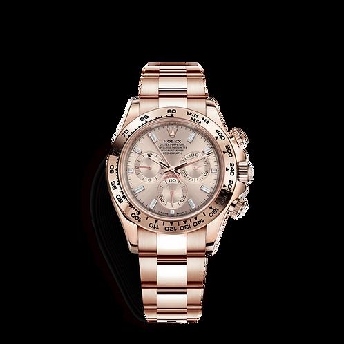 Rolex Daytona 116505-0017 Sundust set with diamonds