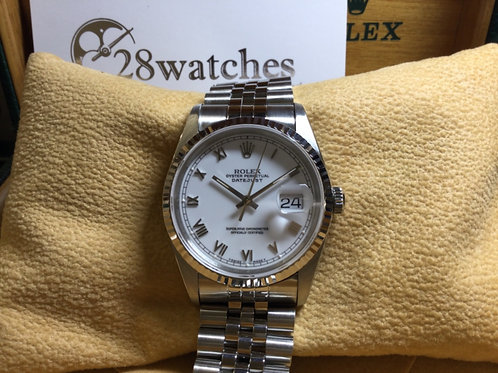 Pre-Owned Rolex Datejust 16234 二手,淨錶- 銅鑼灣