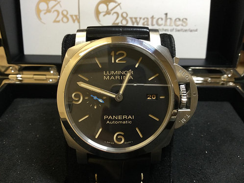 Pre-Owned Panerai Luminor Marina 1950 3 Days PAM01312 二手,行貨- 銅鑼灣店