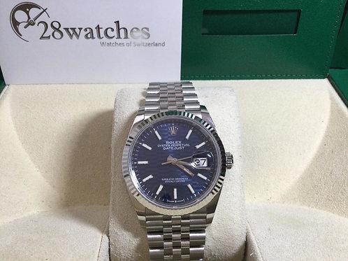 Brand new Rolex Datejust 126234-0049 Bright-Blue 全新 - 銅鑼灣店