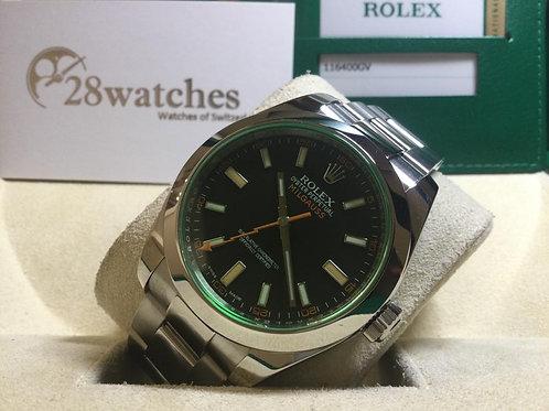 Pre-Owned Rolex Milgauss 116400GV BLK - 銅鑼灣店