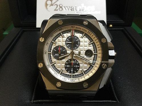 Pre-Owned A.P Royal Oak Offshore Chronograph 26400SO.OO.A002CA.01 停產,I頭 - 銅鑼灣店
