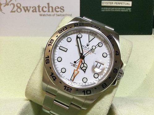 Pre-Owned Rolex Explorer II 216570 二手 - 銅鑼灣店