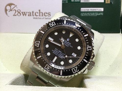 Pre-Owned Rolex Sea-Dweller Deepsea 116660 BLK 二手,停產  - 銅鑼灣店